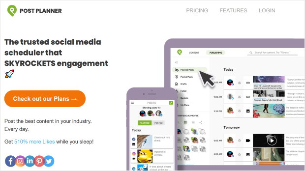 post planner twitter marketing tool