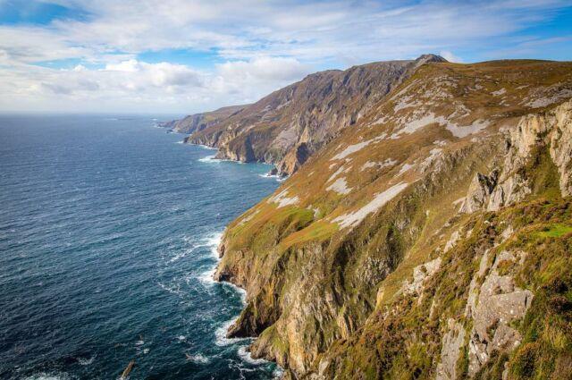 The rugged terrain of the northwestern #cliffs